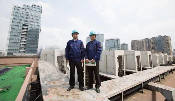 跨部门沟通协作的好榜样——空调安装改造部杜小清部长与商务二部设计师张磊同志